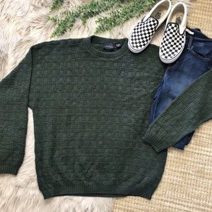 Vintage Baggy Boho Oversized Travel Dad Sweater